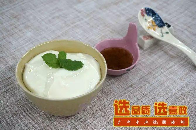 夏日甜点山水豆腐花的制作窍门!
